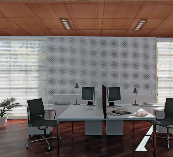 Techos de dise o techos pladur decor grupo empresarial tei - Techos registrables pladur ...