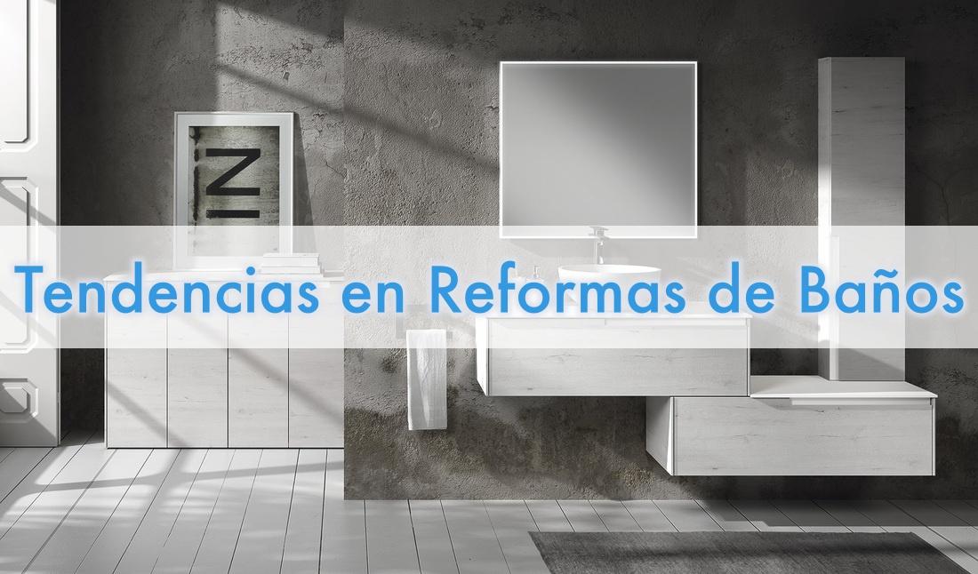 Tipos de reformas de baños