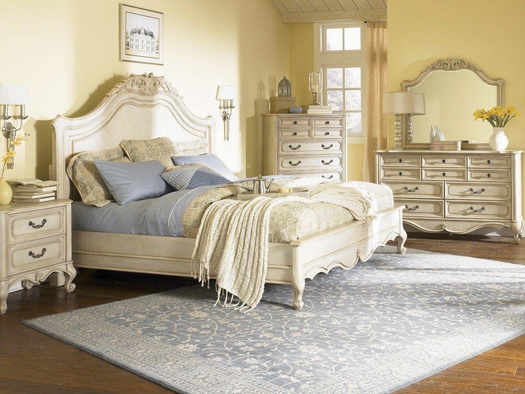dormitorio habitación vintage